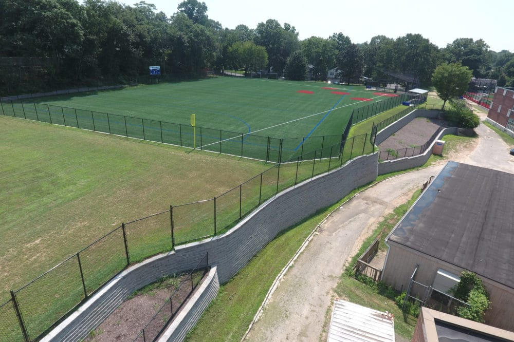Paul D. Schreiber High School Athletic Field Construction